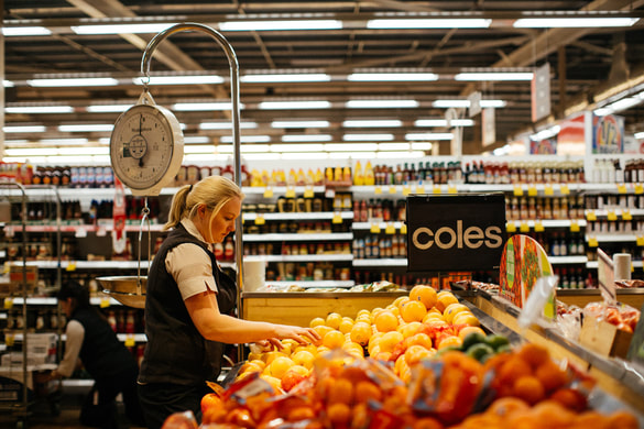 Coles, Fruit, Groceries,